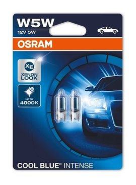 Osram Cool Blue Intense Wedgebase