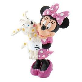 Bullyland Minnie Mouse met hondje