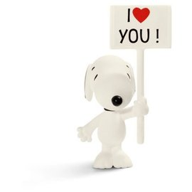 Schleich Peanuts Snoopy - I love you