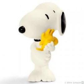 Schleich Peanuts Snoopy mit Woodstock