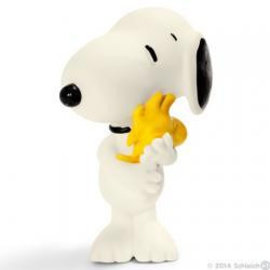 Schleich Peanuts Snoopy with Woodstock