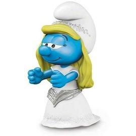 Schleich Smurf Bride