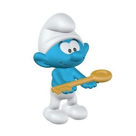 Schleich Smurf with key