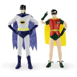NJCroce Bendable Set Batman and Robin 1966