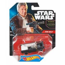 Mattel Hot Wheels Star Wars model car Han Solo