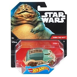 Mattel Hot Wheels Star Wars model car Jabba the Hut