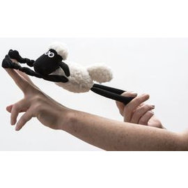 Shaun the Sheep pluche catapult