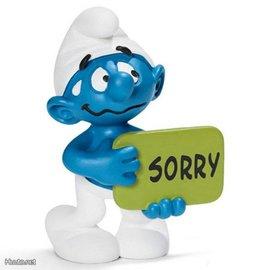 Schleich Sorry Smurf