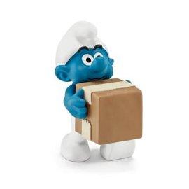 Schleich Office Smurf Logistics