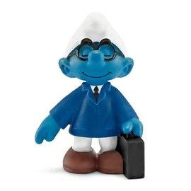 Schleich Office Smurf Salesman