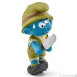 Schleich Jungle Smurf Adventurer