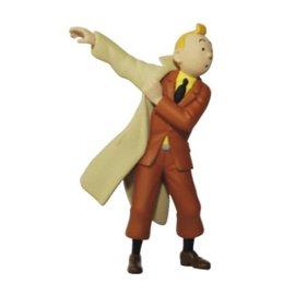 moulinsart Kuifje figuurtje trekt jas aan