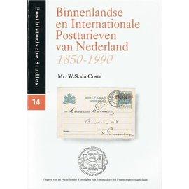 Po & Po Binnenlandse en Internationale Posttarieven van Niederlande 1850-1990