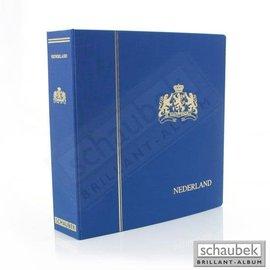 Schaubek BR album & slipcase Netherlands I 1852-1969