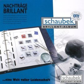 Schaubek BR album pages Netherlands 1970-1979