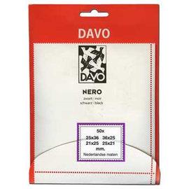 Davo Klemmstreifen Nero 4 x 50 Stück Masse für niederländsiche Marken
