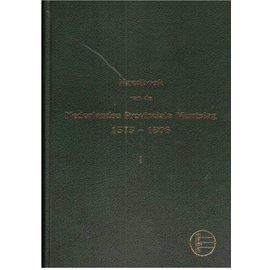 NVMH Nederlandse Provinciale Muntslag Band 1 1573-1806