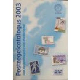 NVPH Postzegelcatalogus 2003 van de postzegels van Nederland