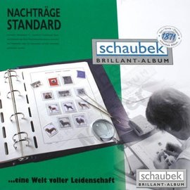 Schaubek ST album pages Netherlands 1980-1989