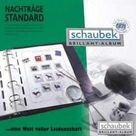 Schaubek ST album pages Netherlands 1995-2001