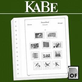 Kabe Text OF Deutschland BRD 1949-1959