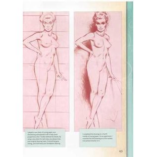 Walter Foster How to Draw & Paint Pin-Ups & Glamour Girls