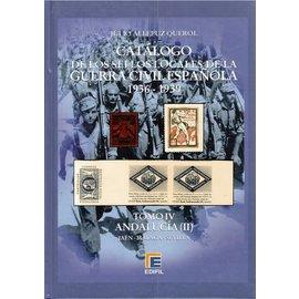 Edifil Tomo IV Catálogo de la Guerra Civil Española 1936-1939 Andalucía (II)