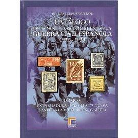 Edifil Tomo V Catálogo de la Guerra Civil Española 1936-1939 Varios I