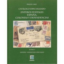 Edifil Catálogo Especializado de los Enteros Postales de España, Colonias Españolas y Dependencias Postales