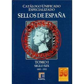 Edifil Sellos de España Tomo I Siglo XIX 1850-1900