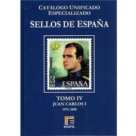 Edifil Sellos de España Tomo IV Juan Carlos I 1975-2000