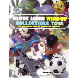 Schiffer White Knob Wind Up Collectible Toys