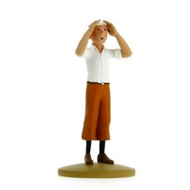 moulinsart Tintin Statue - Tintin In The Desert