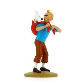 moulinsart Tintin Statue - Tim bringt Struppi zurück