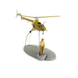 moulinsart Kuifje helikopter C 04 van het leger van San Theodoros