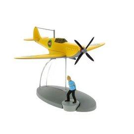 moulinsart Tintin Flugzeug - Das gelbe Flugzeug des Emirs