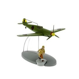 moulinsart Tintin airplane - The Bordurian fighter BF-109