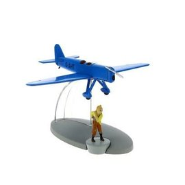 moulinsart Tintin airplane - The blue racing plane