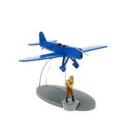 moulinsart Tintin Flugzeug - Das blaue Jagdflugzeug