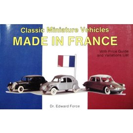 Schiffer Classic Miniature Vehicles · Made in France