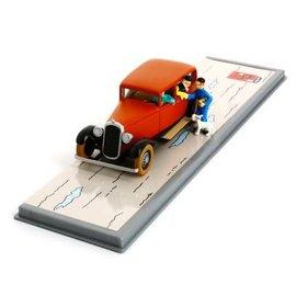 moulinsart Tintin Auto von Wang Jen