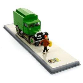 moulinsart Kuifje auto -  De Celwagen uit De Scepter van Ottokar