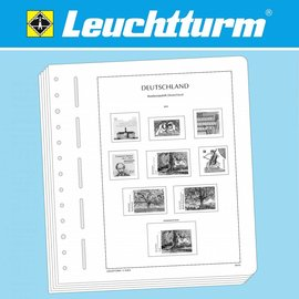 Leuchtturm album pages N Great Britain 1952-1970
