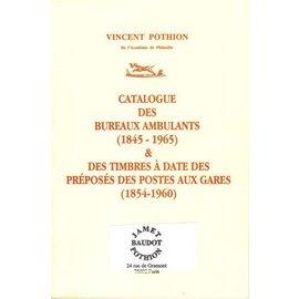 Jamet Frankrijk Mobiele Postkantoren & Stationsstempels