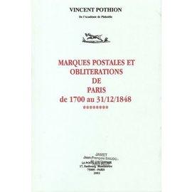 Jamet Frankrijk Stempels Parijs 1700-1848