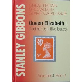 Gibbons Great Britain Volume 4 Part 2 Queen Elizabeth Decimal Definitive Issues