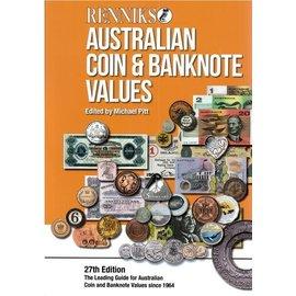 Renniks Australian Coin & Banknote Values