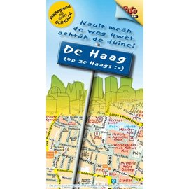 Citoplan Stadtplan De Haag in Den Haager Dialekt