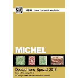 Michel Deutschland-Spezial 2017 Band 1: 1849 bis April 1945
