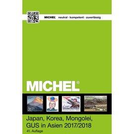 Michel 9.2 Japan, Korea, Mongolei, GUS in Asien 2017